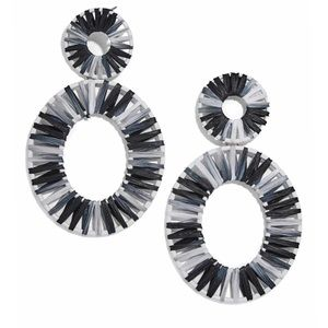 Baublebar - Kiera Raffia Statement Earrings